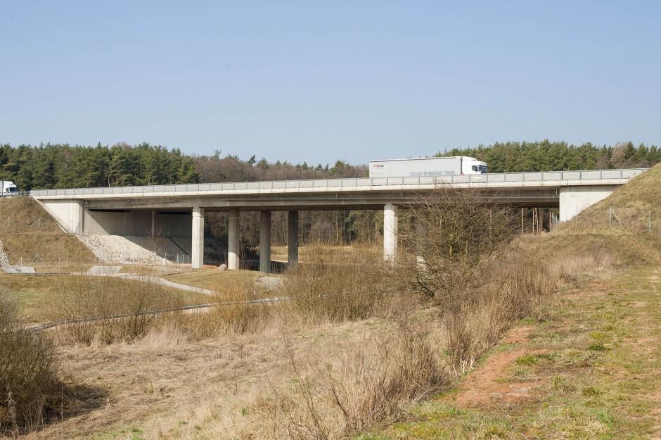Talbrücke Lohgraben BW 65-1 BAB A6 |  | nähe Trisching | Autobahndirektion Nordbayern | Brücken, Prüfung | Dr. Kreutz+Partner - Beratende Ingenieure