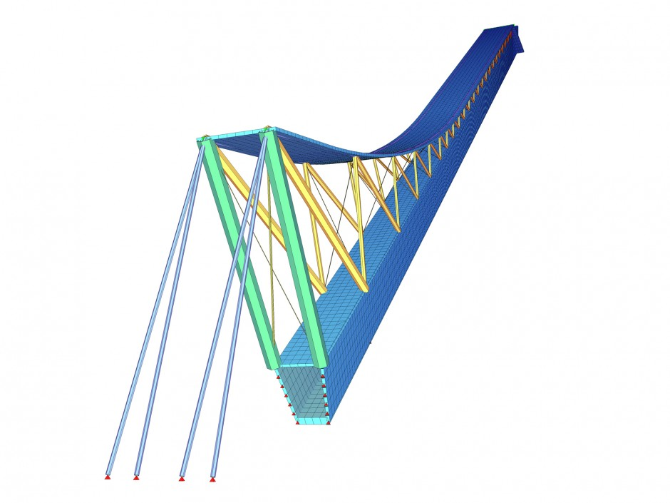 Skisprungschanze Holmenkollen | Dissing Weitling arkitektfirma a/s, Kopenhagen | Norwegen / Oslo | Oslo kommune | Wettbewerbe, Sonderbau | Dr. Kreutz+Partner - Beratende Ingenieure