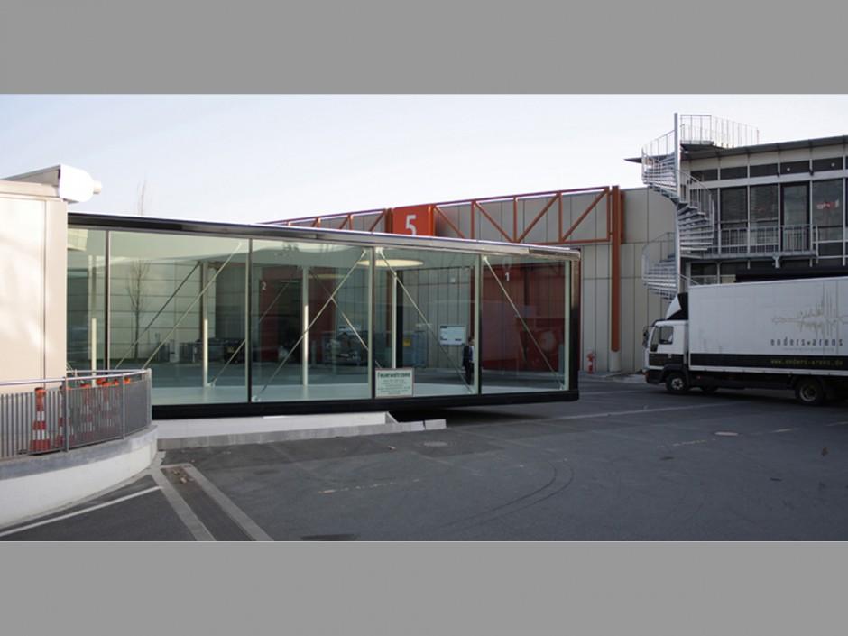 Verfahrbarer Besucherübergang   Glöckner Architekten und Städtebau GmbH, Nürnberg   Nürnberg   Nürnberg Messe GmbH   Hochbau, Sonderbau   Dr. Kreutz+Partner - Beratende Ingenieure