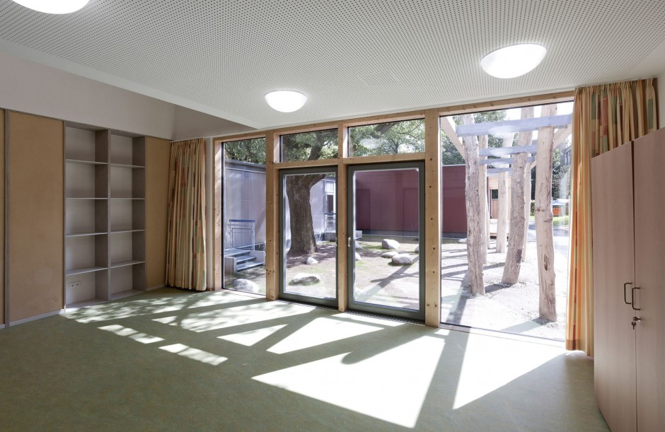 Kindertagesstätte Paul-Gerhardt | Haid + Partner GmbH Architekten + Ingenieure, Nürnberg | Langwasser | Evang. Luth. Kirchengemeindeamt Nürnberg | Hochbau | Dr. Kreutz+Partner - Beratende Ingenieure