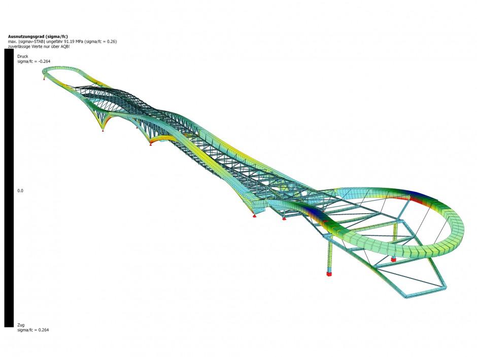 Brücke Chattanooga | CARSTEN ROTH ARCHITEKT, Hamburg | Chattanooga | Village Volkswagen of Chattanooga | Wettbewerbe, Brücken | Dr. Kreutz+Partner - Beratende Ingenieure
