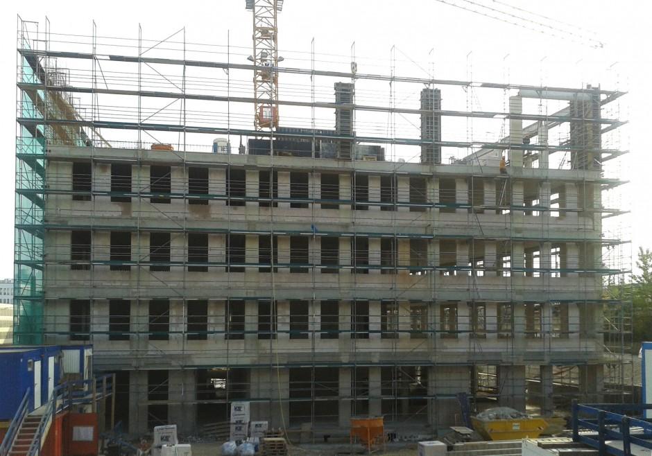 Verwaltungsgebäude mit Hörsälen   Löser + Körner Architekten + Generalplaner, Nürnberg   Nürnberg   aurelis Real Estate GmbH & Co. KG, Nürnberg   Prüfung   Dr. Kreutz+Partner - Beratende Ingenieure