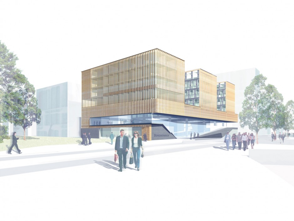 Konzernzentrale Hafencity Hamburg | Prof. Carsten Roth Architekt, Hamburg | Hamburg | Jungheinrich AG | Wettbewerbe | Dr. Kreutz+Partner - Beratende Ingenieure