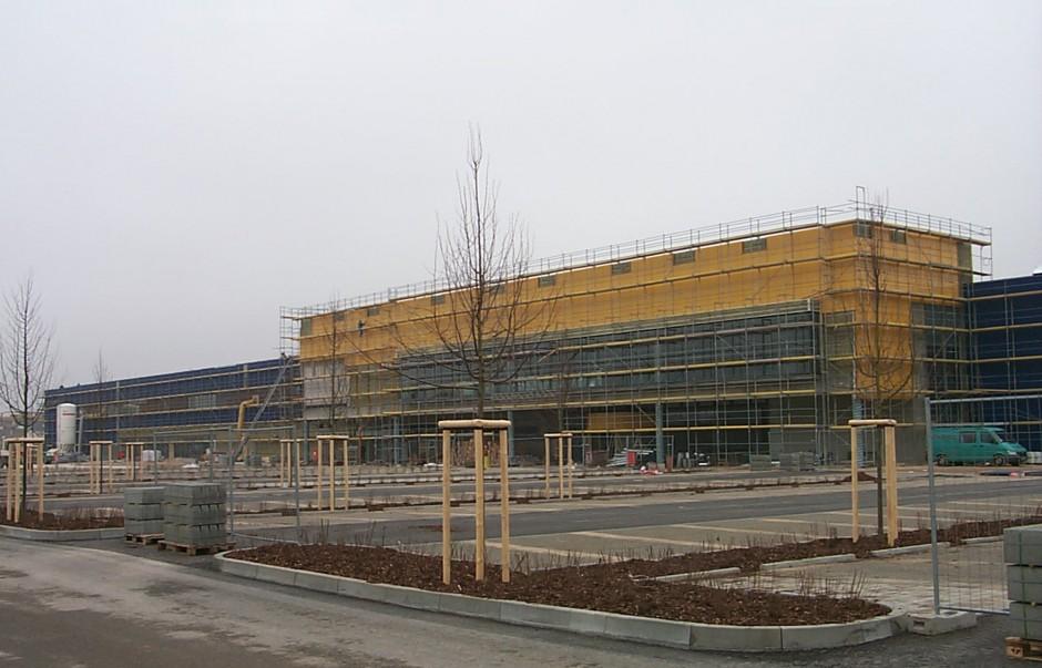 IKEA Fürth   Dipl.-Ing. Knoblauch Luippold Einselen, Kirchheim u. T.   Fürth   IKEA Verwaltungs GmbH, Hofheim-Wallau   Prüfung   Dr. Kreutz+Partner - Beratende Ingenieure