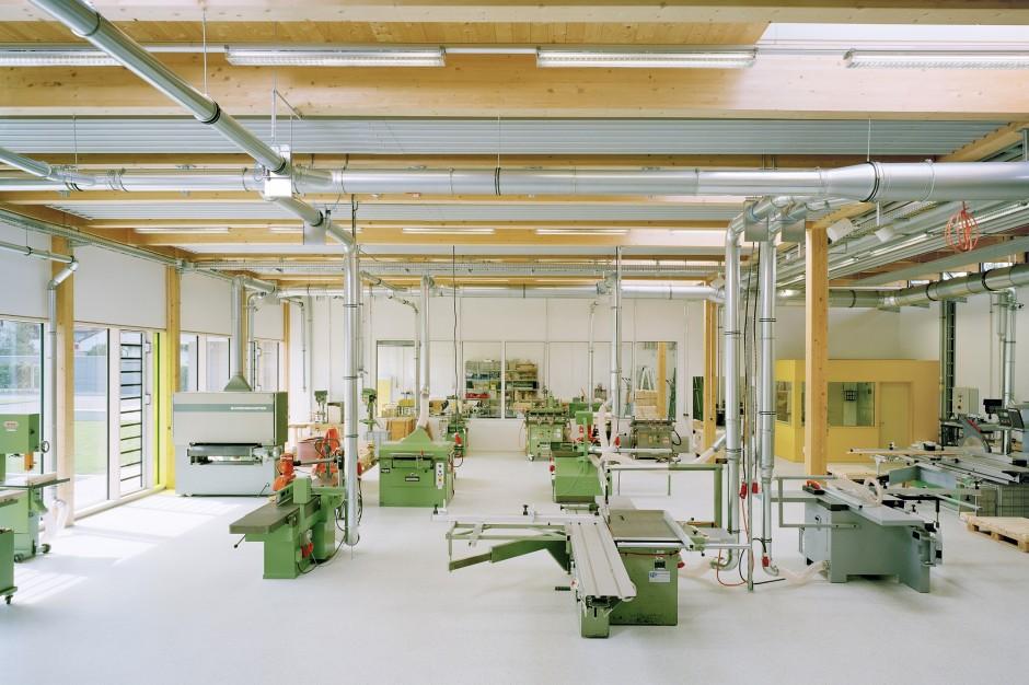 Werkstatt für Menschen mit Behinderung | raum3 architekten, Nürnberg | Sonthofen | Allgäuer Werkstätten, Kempten | Wettbewerbe, Hochbau | Dr. Kreutz+Partner - Beratende Ingenieure