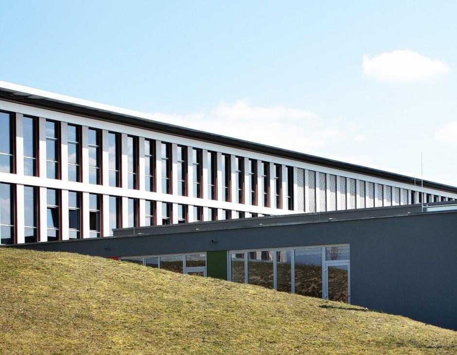 Erweiterungsbau am Gymnasium Eckental   Babler + Lodde Architekten und Ingenieure, Herzogenaurach   Eckental   Landkreis Erlangen Höchstadt   Hochbau   Dr. Kreutz+Partner - Beratende Ingenieure