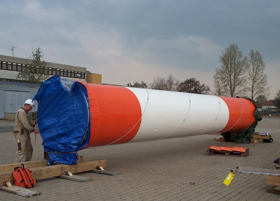 DVB-T-Antennen am Fernmeldeturm |  | Nürnberg | DFMG Deutsche Funkturm GmbH | Sonderbau, Prüfung | Dr. Kreutz+Partner - Beratende Ingenieure