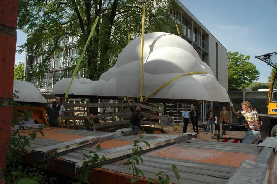 Kunst am Bau – Schaumskulpturen | Sebastian Kuhn, Nürnberg | Regensburg | Staatliches Bauamt Regensburg | Sonderbau | Dr. Kreutz+Partner - Beratende Ingenieure
