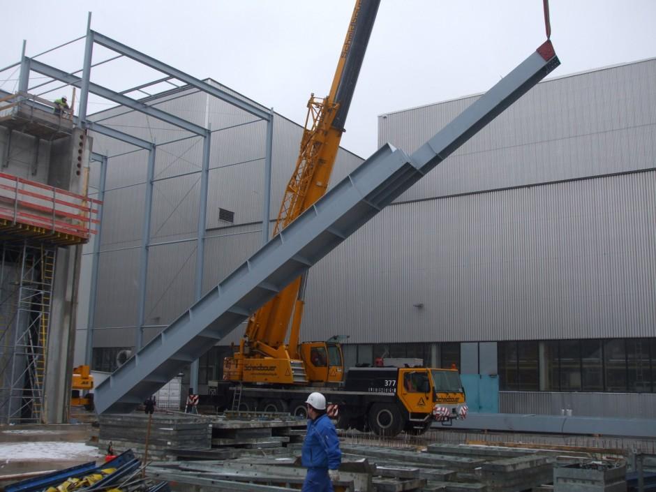 Neubau TLM-Halle | jb architekten gmbh, Nürnberg | Nürnberg | Siemens AG Real Estate SRE | Industriebau | Dr. Kreutz+Partner - Beratende Ingenieure