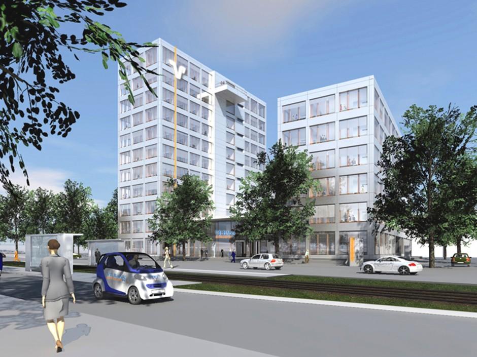 Neue VR-Bank Nürnberg   jb architekten gmbh, Nürnberg   Nürnberg   VR Bank Nürnberg   Hochbau   Dr. Kreutz+Partner - Beratende Ingenieure