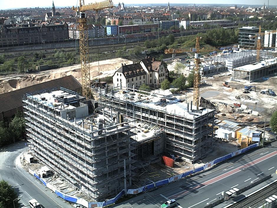 Neue VR-Bank Nürnberg | jb architekten gmbh, Nürnberg | Nürnberg | VR Bank Nürnberg | Hochbau | Dr. Kreutz+Partner - Beratende Ingenieure