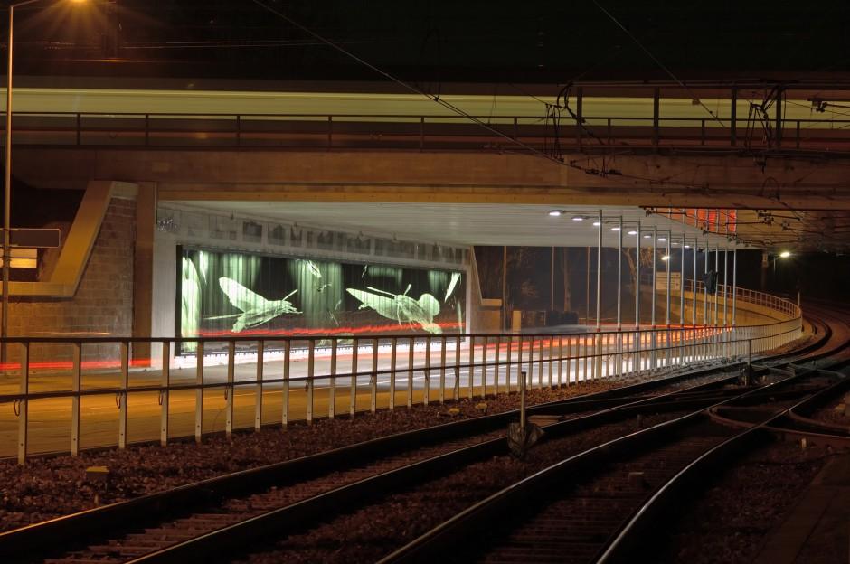 Eisenbahnüberführung Schwarzwaldstraße | netzwerkarchitekten, Darmstadt | Karlsruhe |  | Sonderbau | Dr. Kreutz+Partner - Beratende Ingenieure