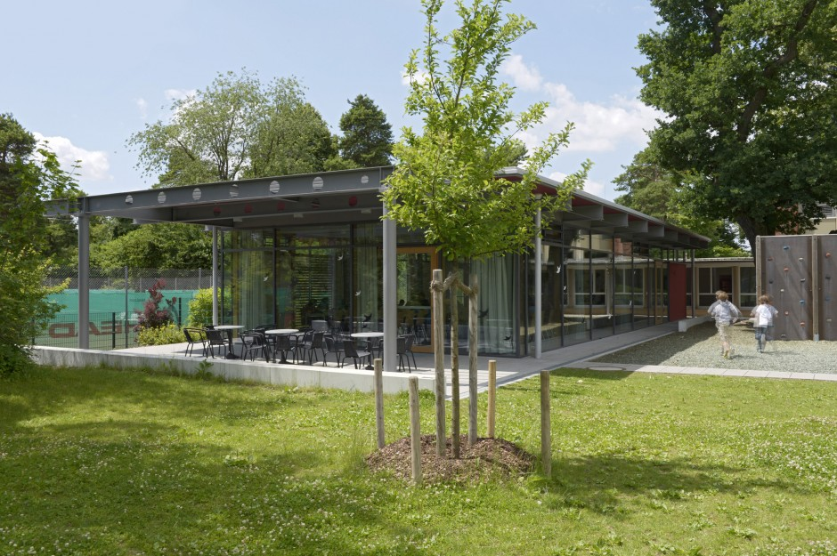 Mensa Berglwald-Volksschule | Steiner • Quast Architekten BDA, München | Oberschleißheim | Gemeinde Oberschleißheim | Hochbau | Dr. Kreutz+Partner - Beratende Ingenieure
