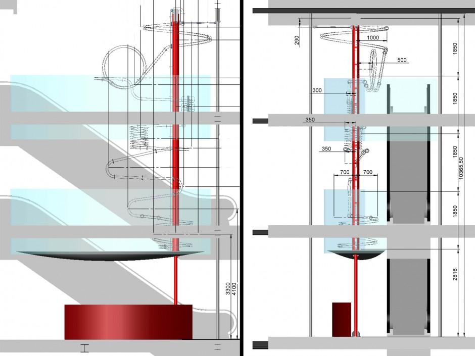 Kugelwürfel |  | Schweiz / Zürich | Hüttinger Exhibition Engineering, Schwaig bei Nürnberg | Sonderbau | Dr. Kreutz+Partner - Beratende Ingenieure
