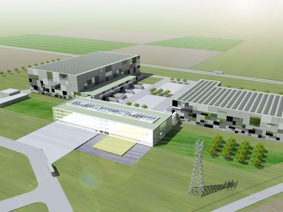 Logistikzentrale Gries Deco Company | netzwerkarchitekten, Darmstadt | Niedernberg | Gries Deco Company GmbH, Niedernberg | Wettbewerbe, Hochbau | Dr. Kreutz+Partner - Beratende Ingenieure