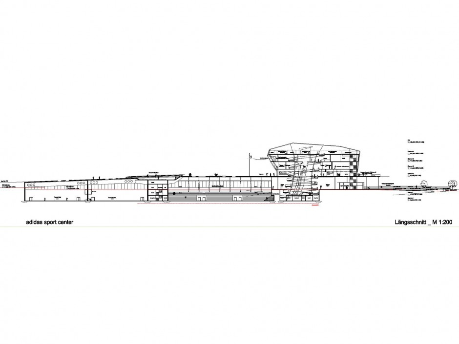 Adidas Sport Center | Glöckner³ Architektur und Städtebau GmbH, Nürnberg | Herzogenaurach | adidas Group | Wettbewerbe | Dr. Kreutz+Partner - Beratende Ingenieure