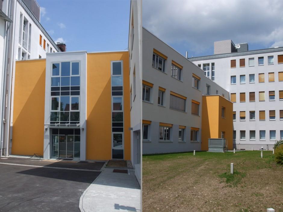 Anbau Ärztehaus   Kappler Architekten Gesamtplaner GmbH, Nürnberg   Altdorf   Krankenhäuser Nürnberger Land GmbH, Lauf   Prüfung   Dr. Kreutz+Partner - Beratende Ingenieure