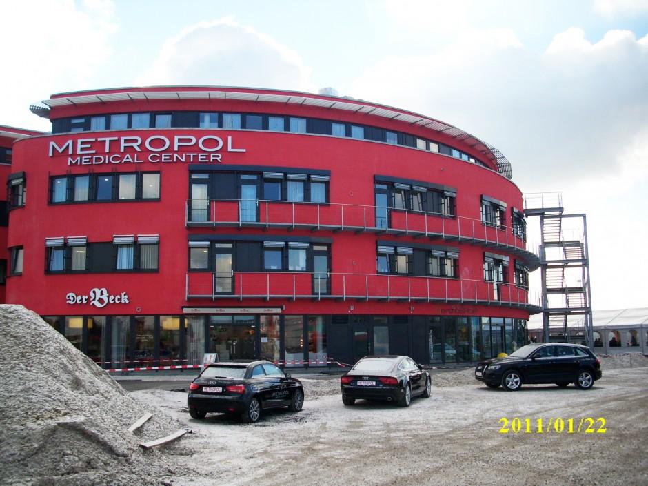 Gesundheitszentrum   Architekturbüro Planwerk, Würzburg   Nürnberg   Dentazone GmbH, Nürnberg   Prüfung   Dr. Kreutz+Partner - Beratende Ingenieure