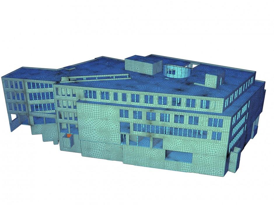 Med Center   casamed GmbH Praxis- und Klinikbau, Lauf / Löser + Körner Architekten + Generalplaner, Nürnberg   Fürth   Praxis- und Klinikbau casamed GmbH, Lauf   Prüfung   Dr. Kreutz+Partner - Beratende Ingenieure
