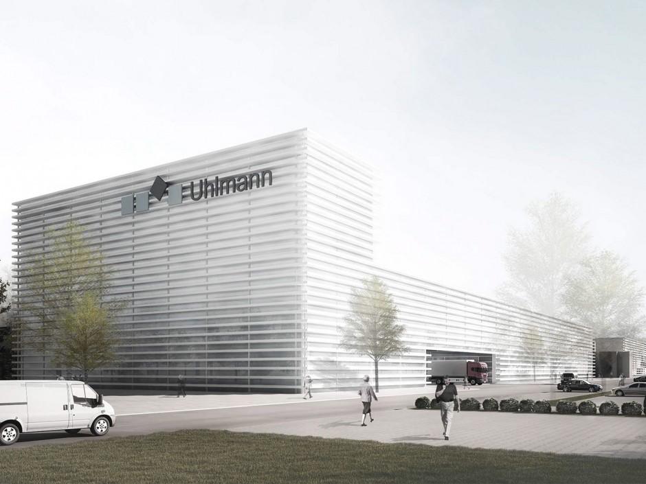 Uhlmann heartbeat | Baumschlager - Eberle, Lochau | Laupheim | Uhlmann Pac-Systeme GmbH & Co. KG | Wettbewerbe, Industriebau | Dr. Kreutz+Partner - Beratende Ingenieure