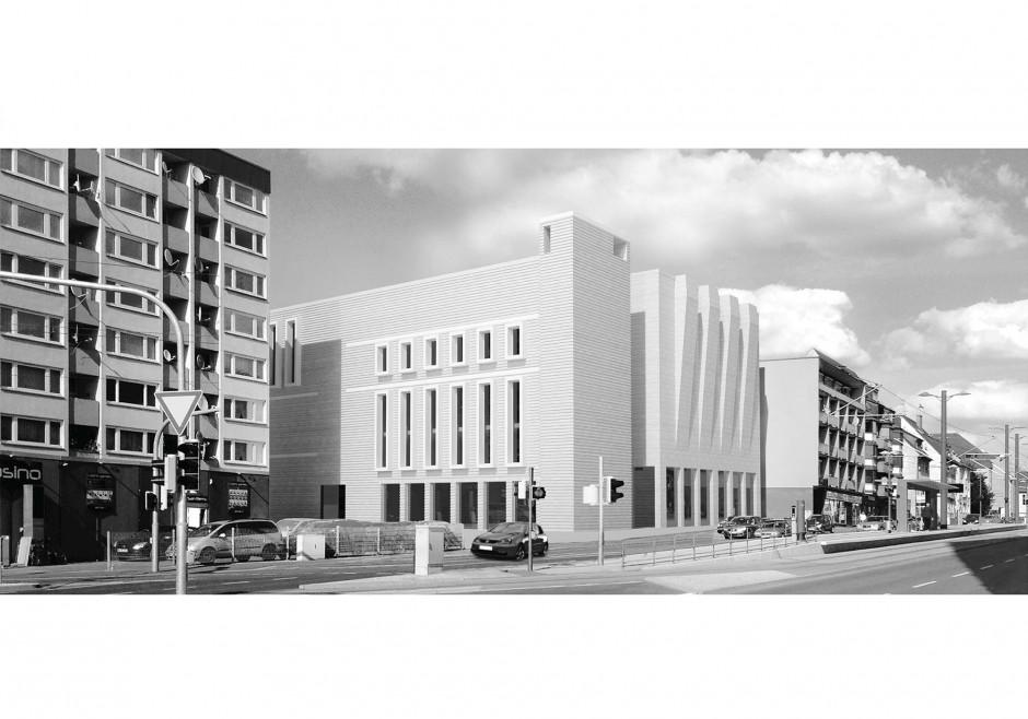 Türkisch islamisches Gemeindezentrum Heilbronn   BaruccoPfeiferArchitektur, Darmstadt   Heilbronn   DITIB Türkisch Islamische Gemeinde zu Heilbronn e.V.   Wettbewerbe, Hochbau   Dr. Kreutz+Partner - Beratende Ingenieure
