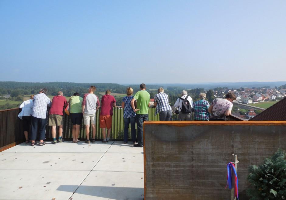 Aussichtsplattform Burg Veldenstein | Atelier 13, Hersbruck | Neuhaus a. d. Pegnitz | Freistaat Bayern | Sonderbau | Dr. Kreutz+Partner - Beratende Ingenieure