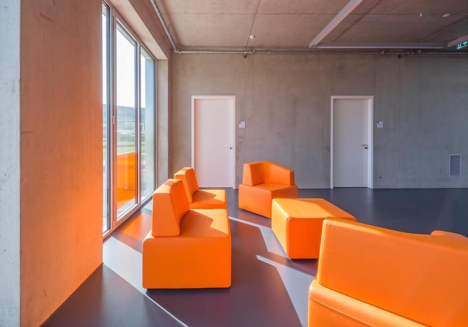 Kunststoffcampus Bayern | Bär, Stadelmann, Stöcker Architekten, Nürnberg | Wendelstein | Betriebsgesellschaft TSZ Weißenburg | Hochbau | Dr. Kreutz+Partner - Beratende Ingenieure