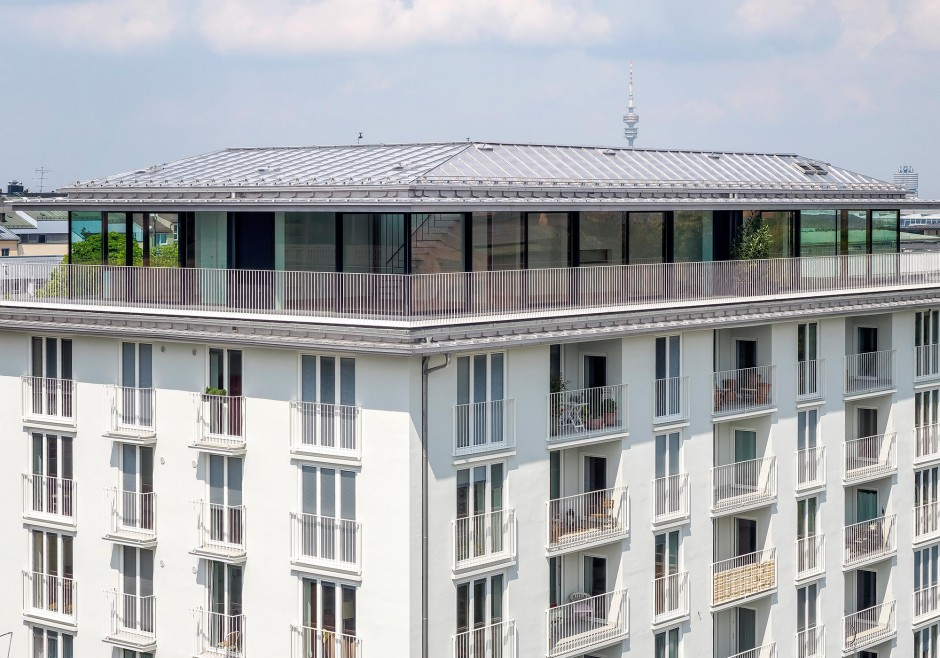 Aufstockung Wohn- und Geschäftsgebäude   Lynx architecture, München   München, Innenstadt   Privater Bauherr   Hochbau, Umbau   Dr. Kreutz+Partner - Beratende Ingenieure