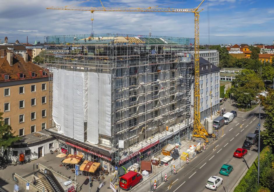 Aufstockung Wohn- und Geschäftsgebäude | Lynx architecture, München | München, Innenstadt | Privater Bauherr | Hochbau, Umbau | Dr. Kreutz+Partner - Beratende Ingenieure