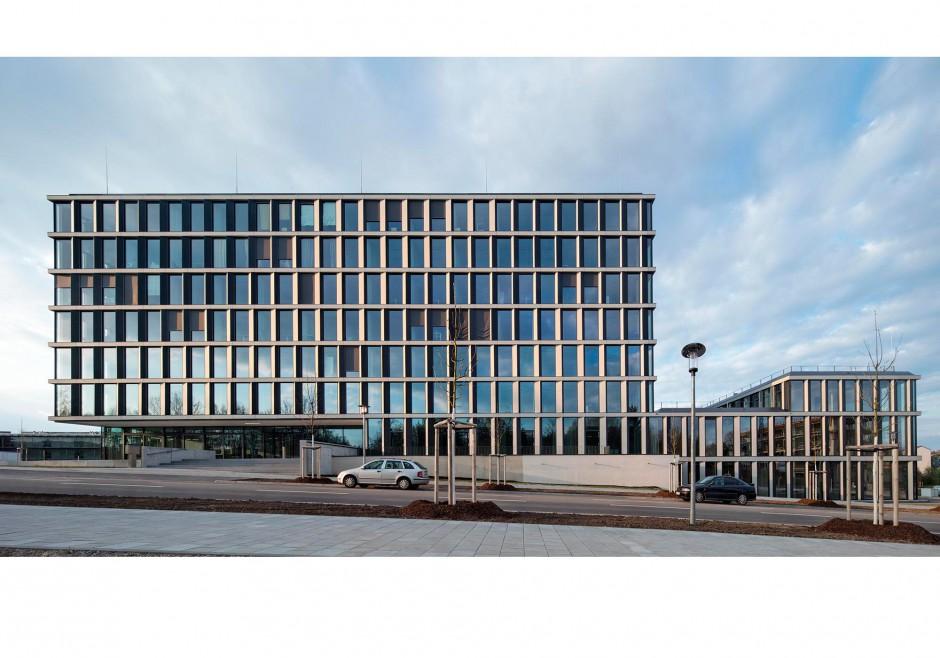 Neubau TechBase Regensburg | Nickl und Partner Architekten, München | Regensburg | R-Tech GmbH, Regensburg | Hochbau, Industriebau | Dr. Kreutz+Partner - Beratende Ingenieure