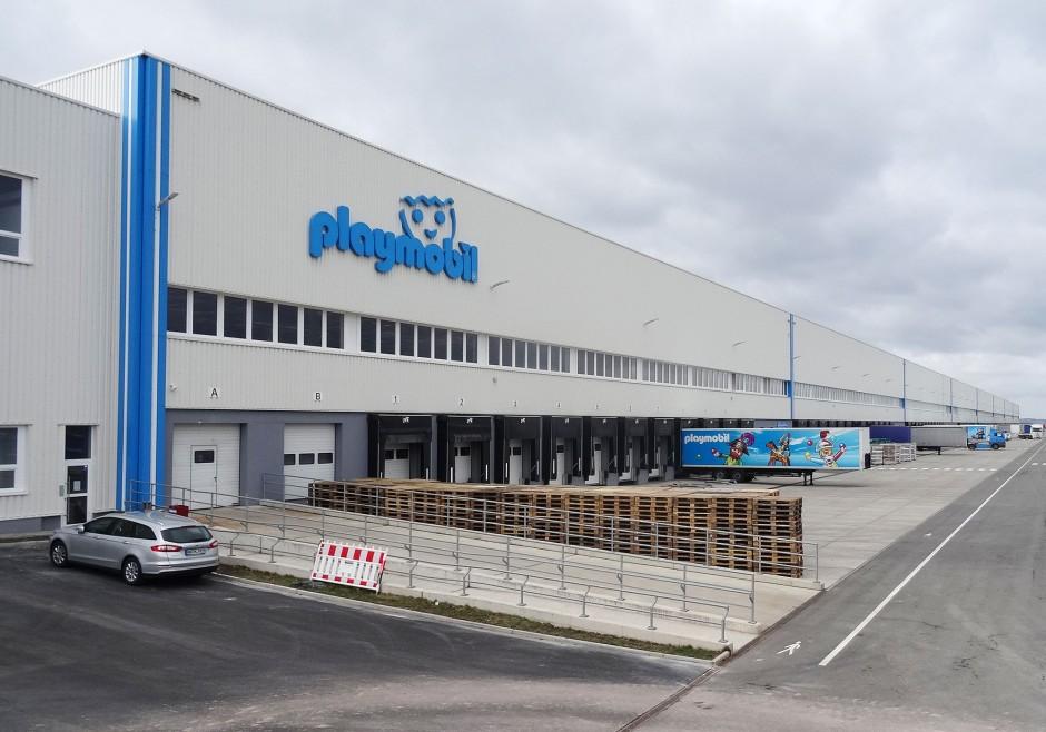 Neubau Logistikzentrum, Herrieden   Spengler Architekturbüro, Nürnberg   Herrieden-Esbach   Landratsamt, Ansbach   Hochbau, Prüfung   Dr. Kreutz+Partner - Beratende Ingenieure