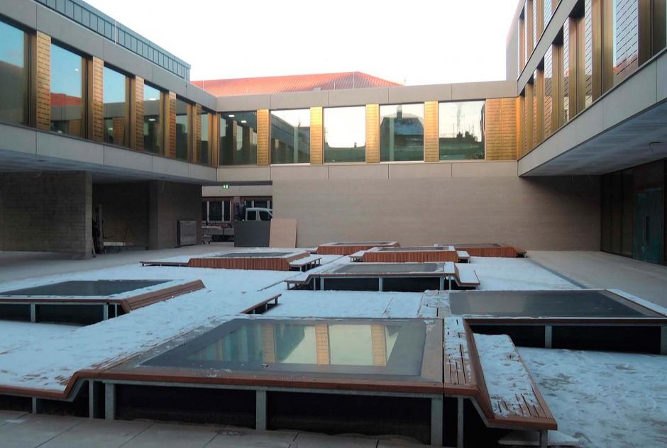 Maria-Ward-Schule, Bamberg | Peck. Daam Architekten, München | Bamberg | Stadt Bamberg, Bauordnungsamt | Hochbau, Prüfung | Dr. Kreutz+Partner - Beratende Ingenieure