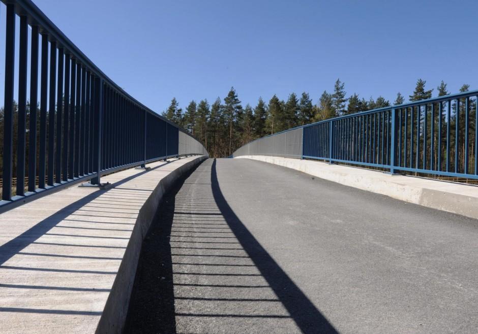 Geh- und Radwegüberführung | Autobahndirektion Nordbayern | BAB A6 Wendelstein bei Nürnberg | Autobahndirektion Nordbayern | Brücken, Prüfung | Dr. Kreutz+Partner - Beratende Ingenieure
