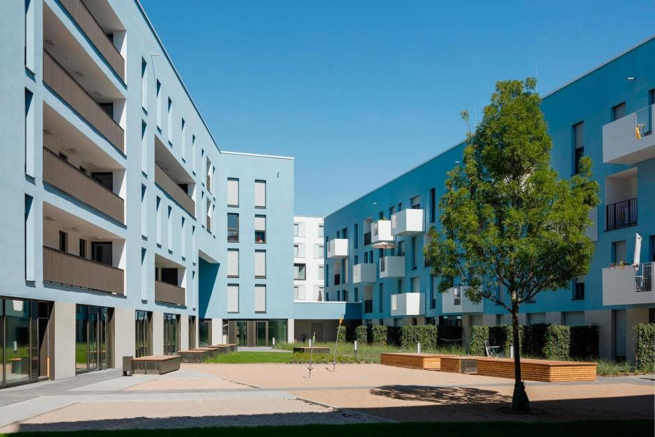 Baufeld Z5b, Bahnstadt Heidelberg | es+ architekten und ingenieure, Darmstadt | Heidelberg | SOKA-Bau, Wiesbaden | Hochbau | Dr. Kreutz+Partner - Beratende Ingenieure
