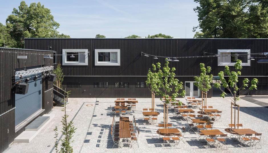 Jugendtreff mit Fahrradwerkstatt   ARGE Markus Gentner Architekten und Bachmann Architekten, Nürnberg   Erlangen   Stadt Erlangen   Hochbau   Dr. Kreutz+Partner - Beratende Ingenieure